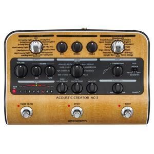 Zoom ズーム AC-3 DI機能付きプリアンプ audio-mania