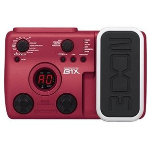ZOOM ズーム マルチエフェクター B1X ベース用 マルチ B1-X|audio-mania