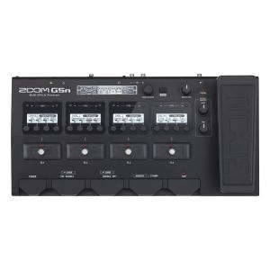 Gシリーズで培ったストンプボックス感覚のUIがさらに進化した「G5n」 4つのユニットディスプレイに...