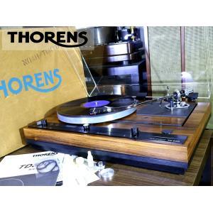 THORENS TD520 SME 3012-R 搭載 オートリフト レコードプレーヤー 新品ベルト/シェル/サブウエイト/元箱等付属 Audio Station|audio-st