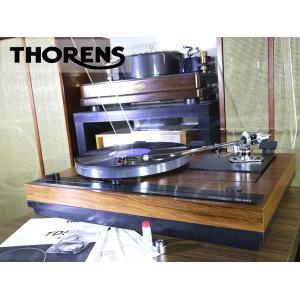 THORENS TD521 SME 3012-R 搭載 レコードプレーヤー 新品ベルト/純正シェル/サブウエイト等付属 Audio Station|audio-st