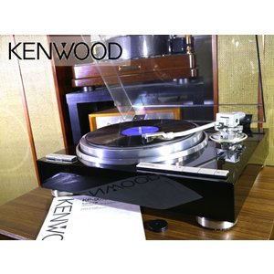 KENWOOD KP-9010 オートリフトアップ レコードプレーヤー 純正シェル付属 当社メンテ/調整済品 Audio Station|audio-st