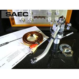 SAEC WE-407/23 トーンアーム CX-5006A PHONOケーブル等付属 リフターオイル補充済み Audio Station audio-st