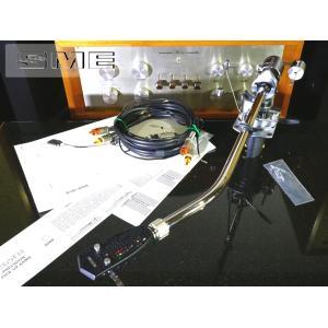 SME 3012-R ロング トーンアーム SMEシェル/ケーブル/サブウエイト等付属 リフターオイル補充済み Audio Station audio-st