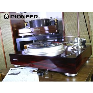 Pioneer PL-70 レコードプレーヤー ウエイト2種/純正シェル等付属 当社整備/調整済品 Audio Station audio-st