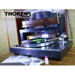 THORENS TD321 ターンテーブル SME 3009 S2 improved 搭載 取説/新品ベルト等付属 Audio Station audio-st