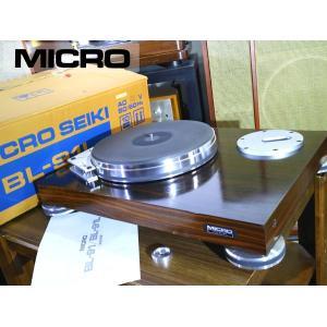 MICRO BL-91L ターンテーブル SME 3012 ロングアーム対応 輸送ネジ/本体元箱等付属 当社整備/調整済品 Audio Station audio-st