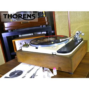 THORENS TD121 SME 3009 S2 搭載 レコードプレーヤー 60Hz仕様 新品マッシュルームゴム等付属 Audio Station audio-st