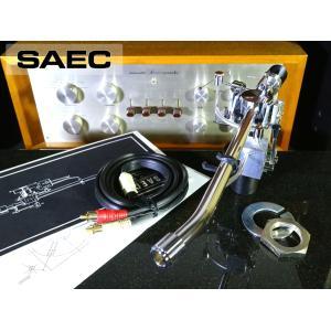 SAEC WE-308 トーンアーム PHONOケーブル等付属 リフターオイル補充済み Audio Station audio-st