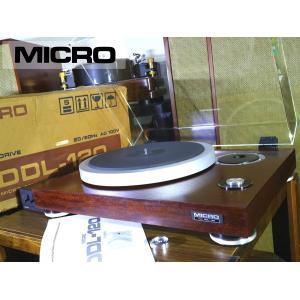 MICRO DDL-120 ターンテーブル コントロールユニット/元箱等付属 当社整備/調整済品 Audio Station audio-st