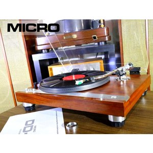 MICRO DD-5 レコードプレーヤー 当社整備/調整済品 Audio Station audio-st