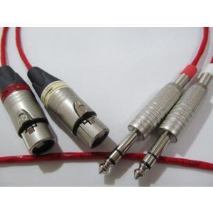 BELDEN ベルデン 88760 XLR-TRS(TS)フォンケーブル 2本1セット 2.0m|audio-yamato