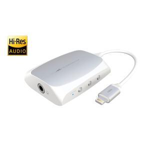 【〜9/24(日)23:59まで最大P29倍】Radius AL-LCH91W(ホワイト) iOS専用ハイレゾ対応ヘッドフォンアンプ ラディウス ALLCH91|audio