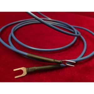 でんき堂オリジナル DSQ-BGW/1.25m アース線 Blue Ground Wire DSQBGW audio