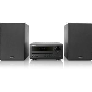 DENON D-T1/K(ブラック) CD、FM/AM ラジオ、Bluetooth 対応スピーカーセ...