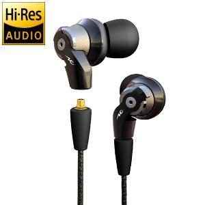 【即納!】【ポイント10倍】Radius HP-NHR31K(黒) ハイレゾ対応インナーイヤーヘッドフォン ラディウス HPNHR31 【P10】|audio