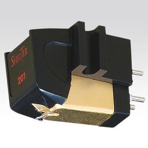 【納期情報:納期未定】【カートリッジ装着済セット】SHELTER MODEL201 + MODEL1011 + テクニカ カートリッジケース MMカートリッジ+シェル+ケース|audio