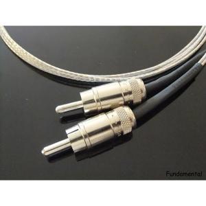 【〜1/24(水)23:59まで最大P23倍】Fundamental RCA-150/(1.5mx2本) RCAピンケーブル ソウルノート RCA150 SOULNOTE audio