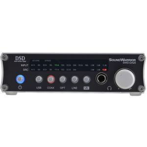 【ポイント10倍】SOUND WARRIOR SWD-DA20 USB D/Aコンバーター サウンドウォーリア 城下工業 SWDDA20 【P10】|audio