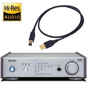 TEAC UD-301-SP/S(シルバー) デュアルモノーラル・D/Aコンバーター ティアック UD301SP|audio