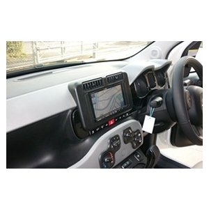 【FIAT PANDA】【2013/06〜】2DIN ナビ取付キット CANバス同梱【フィアットパンダ】【FP2-02BK-CAN】|audioparts