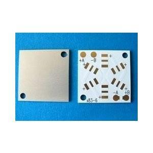 083/183×6個用アルミ基板 LED基板(AQCB-183W6AL) 日亜化学LED|audioq