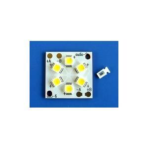 183白色×6個 [NS6W183BT×6]■□3個×2並列 基板付き|audioq