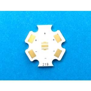 金メッキ 219/319/519用アルミ基板 LED基板(AQCB-219W)  日亜化学LED |audioq