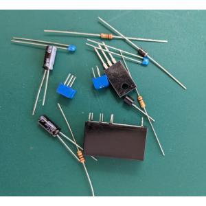 電球のような滑らか点滅部品セット(BS-040FB) ウインカーLED点滅【基板無し】|audioq