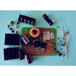 100W 昇圧コンバータキット 昇圧型DCDCコンバーター(AQV-100-N) DC-DCコンバータ 昇圧 ステップアップ 12V→15V〜24V任意調整可|audioq