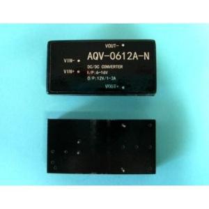 出力DC12V昇降圧型コンバータ DCDCコンバーター(AQV-0612A-N) DC-DC 昇圧 出力DC12V|audioq
