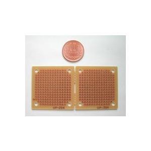 ユニバーサル基板 (45×45×1.6mm、2枚) 2.54P|audioq