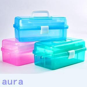 送料無料 工具箱 美術用品 収納がこ ツールボックス 3段 収納がこ ツールボックス  手提げ 工具入れ 手持ち 薬のがこ 小道具 小物 多機能 スケ|auratrade