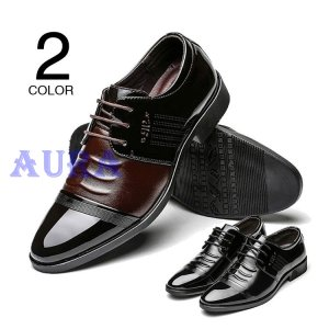 ビジネスシューズ 革靴 メンズ シューズ 光沢 皮靴 レザーシューズ 紳士靴 通勤 男性 シークレットシューズ ヴィンテージ ビンテージ|auratrade