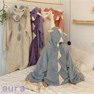 着る毛布 レディース メンズ ルームウェア ロング丈 部屋着 羽織 長袖 ボア フード付き羽織りロング毛布|auratrade