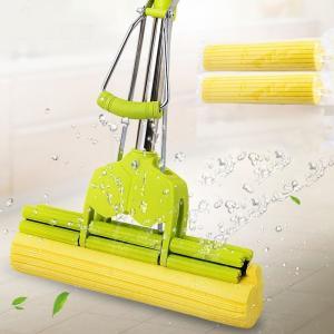 伸びる 水拭きモップ 絞り 替え 乾拭き 掃除 掃除用具 床掃除 軽量 軽い 油汚れ