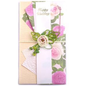 お祝儀袋 ご祝儀袋 結婚式 ピンクローズ 金封・のし袋・御結婚御祝・寿|auro