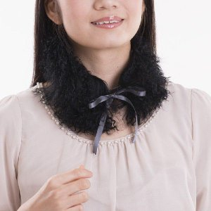 チベットラムファーティペット 毛皮カラー auro