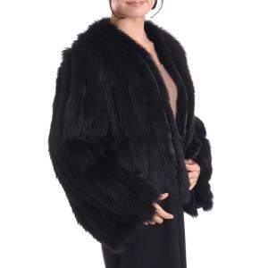 日本製ブルーフォックスファージャケットコート リバーシブル|auro
