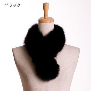 ブルーフォックスファーマフラー 毛皮カラー|auro