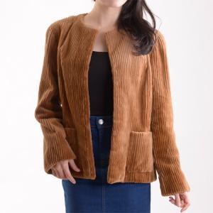 シェアードミンクファージャケット 毛皮コート イエローゴールド|auro