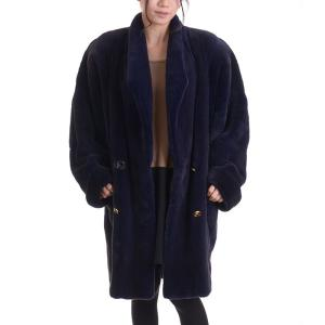 日本製プラックドミンクコート パープル|auro