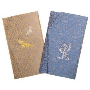 ふくさ 袱紗 セット 福珠どんす金封慶弔両用2枚 日本製|auro
