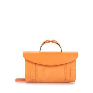 MANSUR GAVRIEL マンサーガブリエル クロスボディバッグ オレンジ Satchel Crossbody Bag|aurora-and-oasis