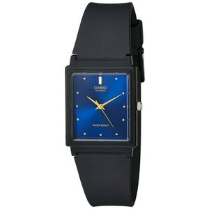 腕時計 カシオ メンズ Casio Men's Analog Quartz Black Resin Watch MQ38-2A|aurora-and-oasis