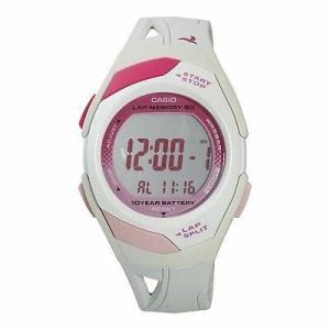 腕時計 カシオ レディース Casio Women's Runner Eco Friendly Digital Watch STR300-7|aurora-and-oasis