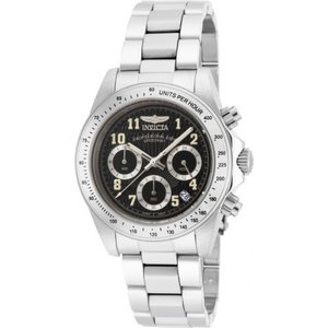 腕時計 インヴィクタ インビクタ メンズ Invicta Men's 17025 Speedway Quartz Chronograph Black Dial Watch|aurora-and-oasis