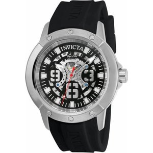 腕時計 インヴィクタ インビクタ メンズ Invicta Objet D Art Men's 3 Hand Black Dial Watch 22629|aurora-and-oasis