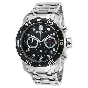 腕時計 インヴィクタ インビクタ メンズ Invicta Men's Pro Diver Chronograph Quartz 200m Stainless Steel Watch 21920|aurora-and-oasis