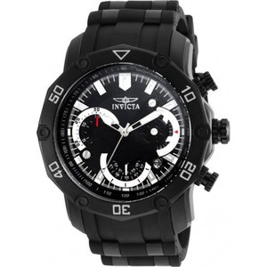 腕時計 インヴィクタ インビクタ メンズ Invicta Men's Pro Diver 100m Chronograph Black Dial/Bracelet Watch 22799|aurora-and-oasis